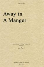 James Murray/William Kirkpatrick: Away In A Manger (Flute/Piano) Sheet Music