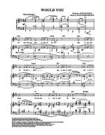 Would You Sheet Music