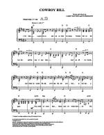 Cowboy Bill Sheet Music
