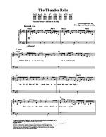 The Thunder Rolls Sheet Music