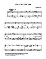 Thanksgiving Day Sheet Music