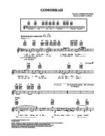 Gomorrah Sheet Music