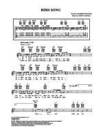 Bird Song Sheet Music
