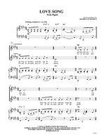 Love Song (From Pippin) Sheet Music