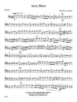 Jazzy Blues: Cello Sheet Music