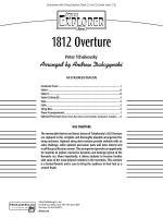 1812 Overture: Score Sheet Music