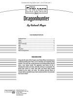 Dragonhunter: Score Sheet Music