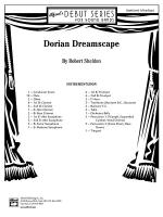 Dorian Dreamscape: Score Sheet Music