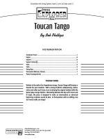 Toucan Tango: Score Sheet Music
