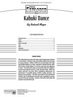 Kabuki Dance: Score Sheet Music