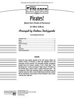 Pirates!: Score Sheet Music