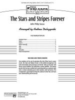 The Stars and Stripes Forever: Score Sheet Music