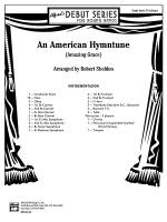 An American Hymntune (Amazing Grace): Score Sheet Music