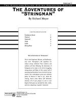 The Adventures of Stringman: Score Sheet Music