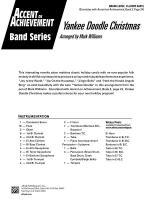 Yankee Doodle Christmas: Score Sheet Music