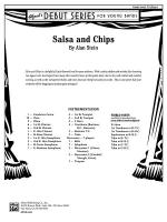 Salsa and Chips: Score Sheet Music