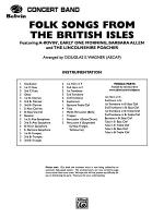 Folk Songs from the British Isles: Score Sheet Music