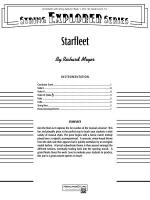 Starfleet: Score Sheet Music
