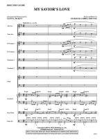 My Savior's Love: Score Sheet Music