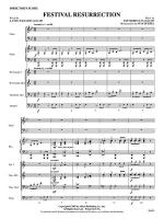Festival Resurrection: Score Sheet Music