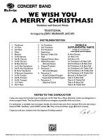 We Wish You a Merry Christmas!: Score Sheet Music