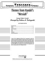 Themes from Handel's Messiah: Score Sheet Music