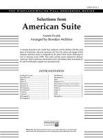 Selections from American Suite: Score Sheet Music