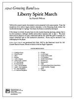 Liberty Spirit March: Score Sheet Music