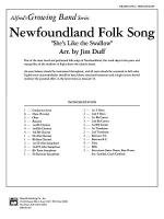 Newfoundland Folk Song: Score Sheet Music