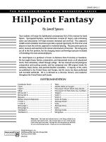 Hill Point Fantasy (Overture for Orchestra): Score Sheet Music