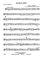 Sleigh Ride: B-flat Tenor Saxophone Sheet Music