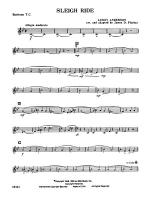 Sleigh Ride: Baritone T.C. Sheet Music