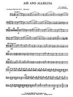 Air and Alleluia: 1st Trombone Sheet Music