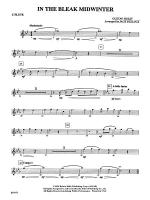 In the Bleak Midwinter: Flute Sheet Music