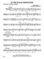In the Bleak Midwinter: 1st Trombone Sheet Music