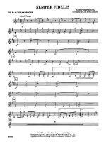 Semper Fidelis: 2nd E-flat Alto Saxophone Sheet Music