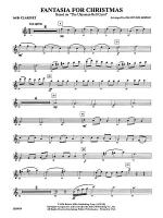 Fantasia for Christmas (based on The Ukranian Bell Carol): 1st B-flat Clarinet Sheet Music