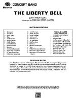 The Liberty Bell: Score Sheet Music
