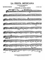 La Fiesta Mexicana (A Mexican Folk Song Symphony for Concert Band): E-flat Baritone Saxophone Sheet Music