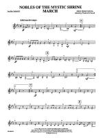 Nobles of the Mystic Shrine (March): 3rd B-flat Cornet Sheet Music