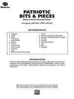 Patriotic Bits & Pieces (based on Favorite American Themes): Score Sheet Music