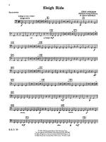 Sleigh Ride: 1st Percussion Sheet Music