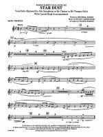 Star Dust: 2nd B-flat Trumpet Sheet Music