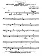 Star Dust: Tuba Sheet Music