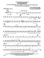 Star Dust: 1st Percussion Sheet Music