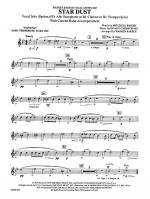 Star Dust: WP 1st B-flat Trombone T.C. Sheet Music