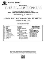 The Polar Express, Selections from: Score Sheet Music
