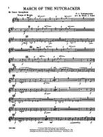 Nutcracker Ballet, Set II (March of the Nutcracker and Trepak): B-flat Tenor Saxophone Sheet Music