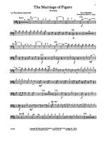 The Marriage of Figaro -- Overture: 1st Trombone Sheet Music
