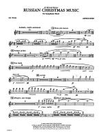 Russian Christmas Music: Flute Sheet Music